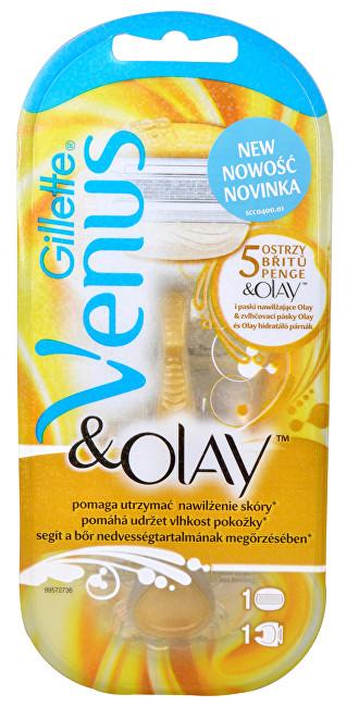 Gillette Venus & Olay dámsky holiaci strojček + 1 hlavica