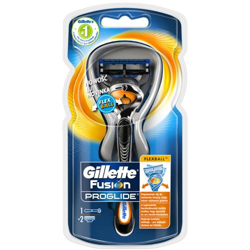 Gillette Holiaci strojček ProGlide Flexball + náhradné hlavice 2 ks