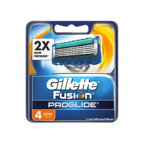 Gillette náhradné hlavice FusionPro glide 4 ks