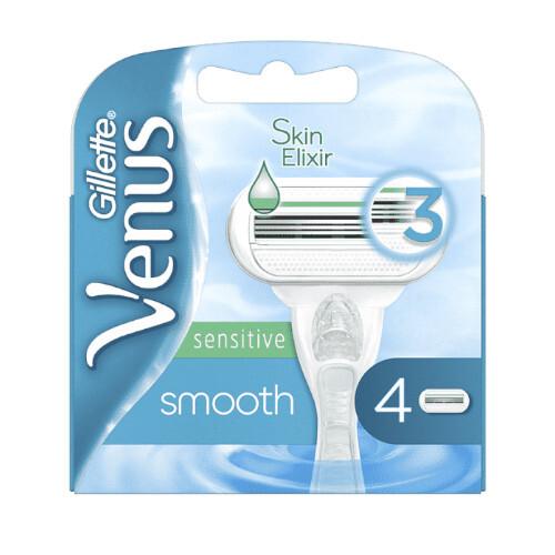 Gillette Náhradné hlavice Venus Smooth Sensitiv e 4 ks