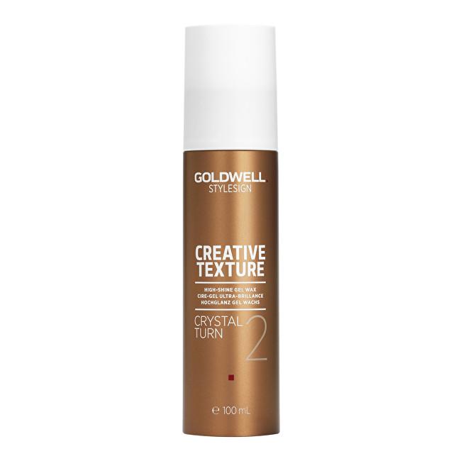 Levně Goldwell Gelový vosk pro vysoký lesk vlasů Stylesign (Creative Texture Crystal Turn 2) 100 ml