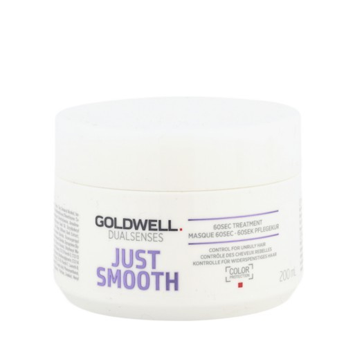 Goldwell Uhladzujúci maska na nepoddajné vlasy Dualsenses Just Smooth (60 SEC Treatment Mask) 500 ml