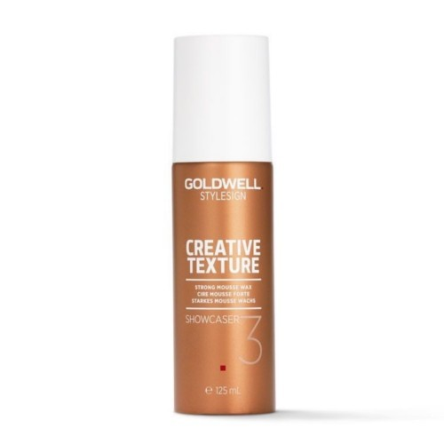 Goldwell Penový vosk na vlasy StyleSign Creative Texture (Strong Mousse Wax) 125 ml
