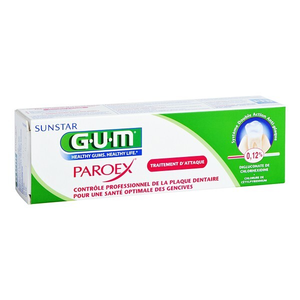 GUM Zubní gel Paroex (CHX 0,12%) 75 ml