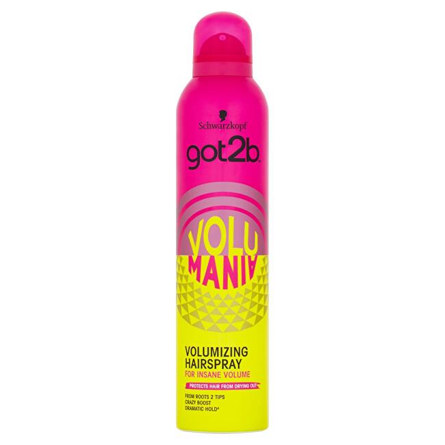 got2b Lak na vlasy pre objem Volumania (Bodifying Hair spray) 300 ml