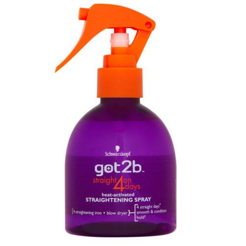 got2b Sprej na narovnání vlasů Straight On 4 Days (Straightening Spray) 200 ml