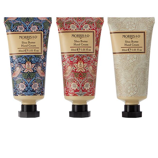 Heathcote & Ivory Sada krémov na ruky Strawberry Thief 3 x 30 ml