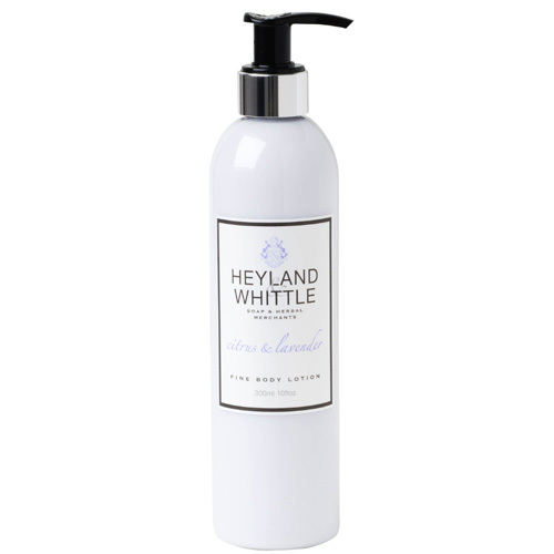 Heyland & Whittle Tělové mléko Citrus & Lavender (Fine Body Lotion) 300 ml