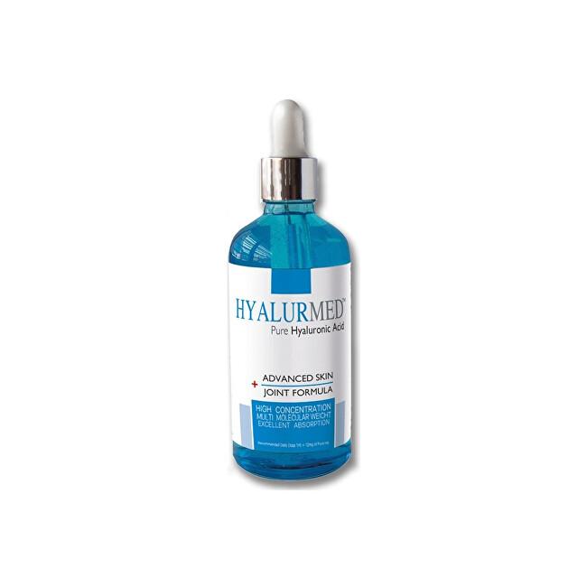HYALURMED Čirá kyselina hyaluronová - doplněk stravy (Pure Hyaluronic Acid) 100 ml
