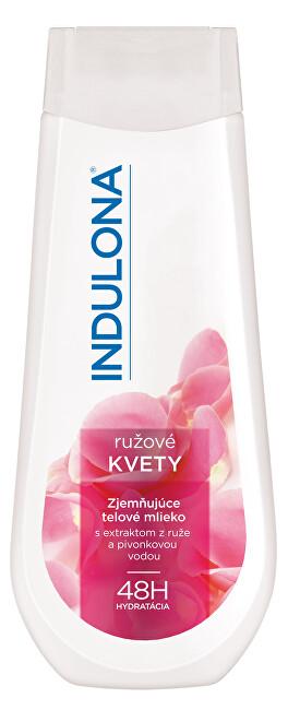 Indulona Zjemňujúce telové mlieko Ružové kvety 400 ml