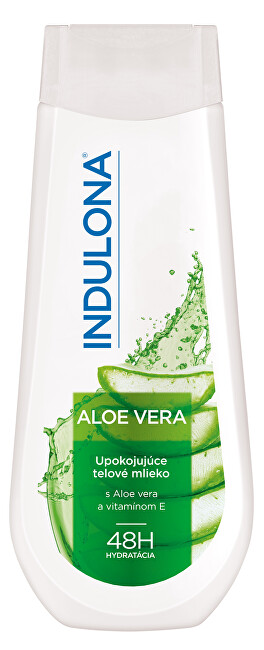 Indulona Upokojujúce telové mlieko Aloe Vera 400 ml