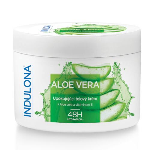 Indulona Upokojujúci telový krém Aloe Vera 250 ml