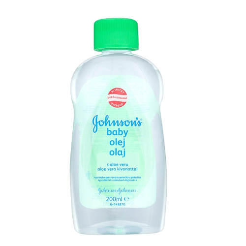 JOHNSON`S Baby Olej s aloe vera Baby 200 ml