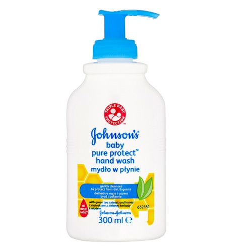 JOHNSON`S Baby Tekuté mýdlo Baby Pure Protect 300 ml
