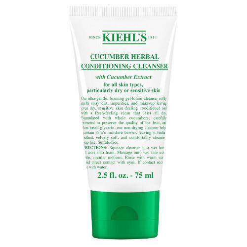 Kiehl´s Jemně čisticí pleťová emulze s výtažky z okurky (Cucumber Herbal Conditioning Cleanser) 75 ml