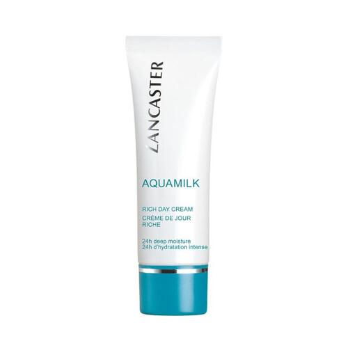 Lancaster Bohatý hydratačný denný krém na suchú pokožku Aquamilk (Rich Day Cream) 50 ml