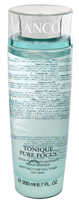 Čisticí tonikum na mastnou pleť Tonique Pure Focus (Matifying Purifying Toner) 200 ml