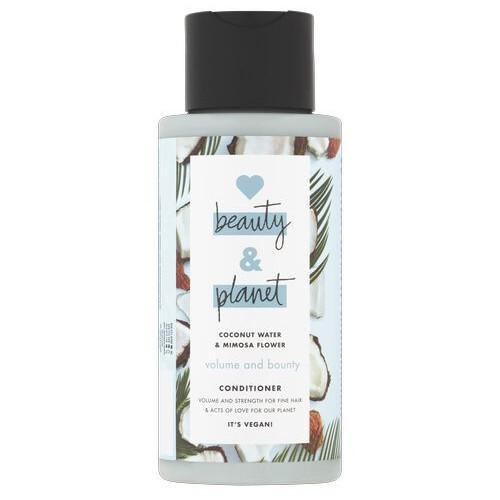 Love Beauty and Planet Kondicionér na jemné vlasy s kokosovou vodou a květy mimózy (Volume and Bounty Conditioner) 400 ml