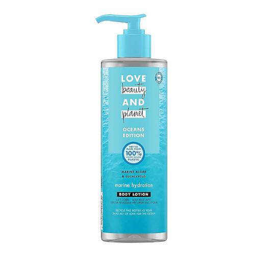 Love Beauty and Planet Hydratační tělové mléko Sea Algae & Euclyptus Oceans Edition (Body Lotion) 400 ml