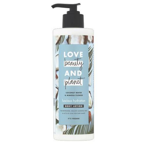 Love Beauty & Planet Luscious Hydration hydratační tělové mléko 400 ml