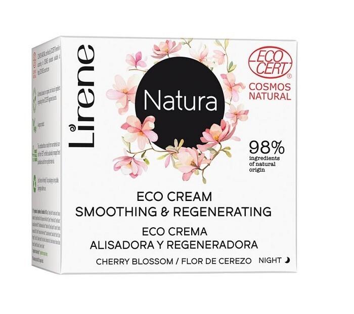Lirene Vyhlazující noční krém Natura (Eco Cream Smoothing & Regenerating) 50 ml