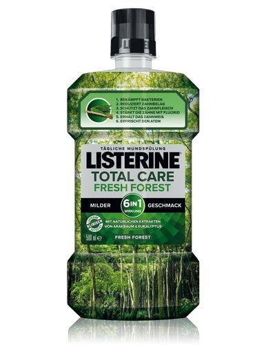 Listerine Ústna voda Total Care Fresh Forest 500 ml