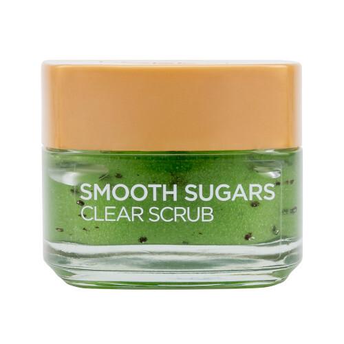 L´Oréal Paris Čisticí peeling proti černým tečkám s obsahem semínek z kiwi (Smooth Sugars Clear Scrub) 50 ml