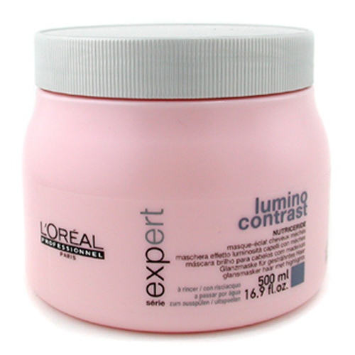 Loreal Professionnel Intenzivní maska pro melírované vlasy Lumino Contrast (Radiance Masque Highlighted Hair) 500 ml