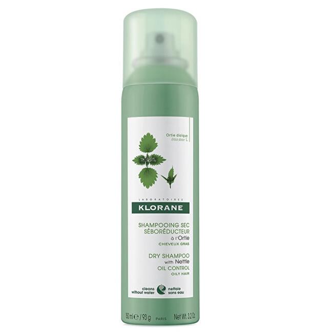 Klorane Suchý šampon pro mastné vlasy (Dry Shampoo) 150 ml