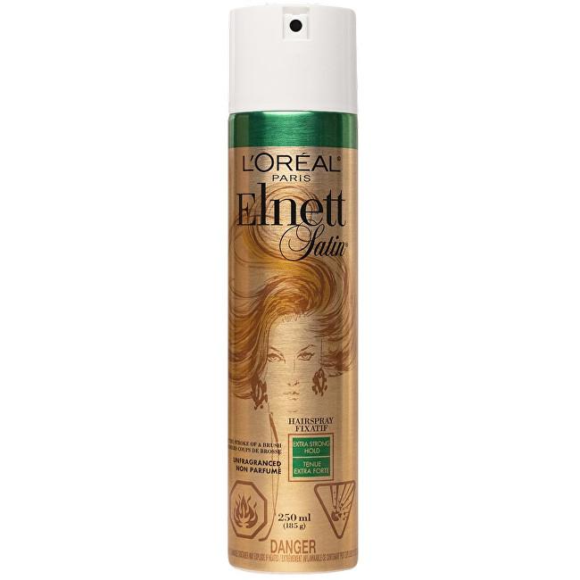 L´Oréal Paris Lak na vlasy s extra silnou fixací Elnett Satin Unfragnanced (Extra Strong Hair Spray) 250 ml
