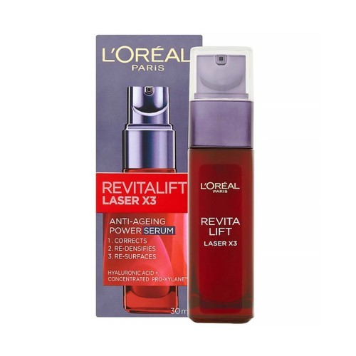 L´Oréal Paris Pleťové sérum proti stárnutí Revitalift Laser X3 (Anti-Ageing Power Serum) 30 ml