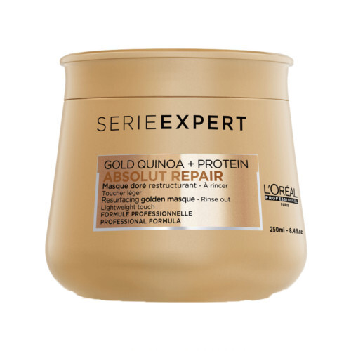 Loreal Professionnel Regenerační zlatá maska pro poškozené vlasy Serie Expert Absolut Repair Gold Qu