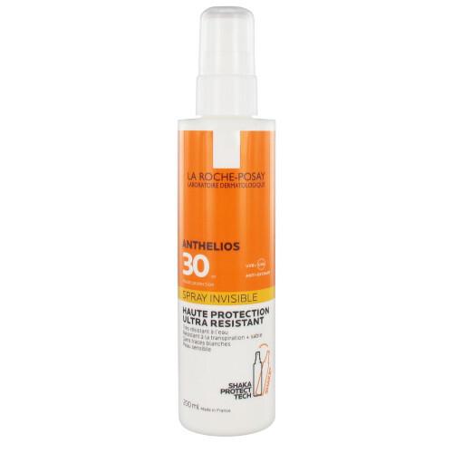 La Roche Posay Sprej na opaľovanie pre citlivú pokožku SPF 30 Anthelios (Invisible Spray Ultra Resistant) 200 ml