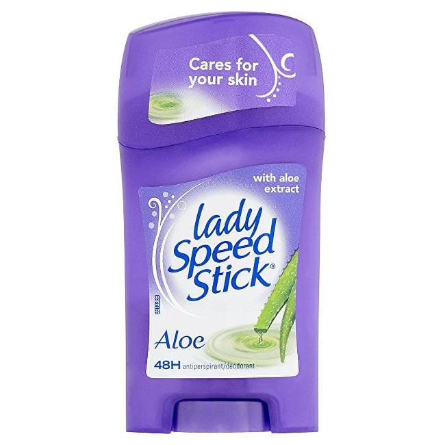 Lady Speed Stick Tuhý antiperspirant s aloe vera Sensitive (Aloe 24H Protection) 45 g