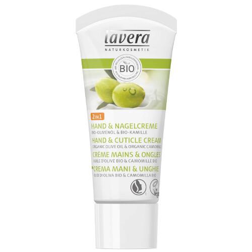 Lavera Krém na ruky a nechty 2v1 (Hand & Cuticle Cream) 20 ml