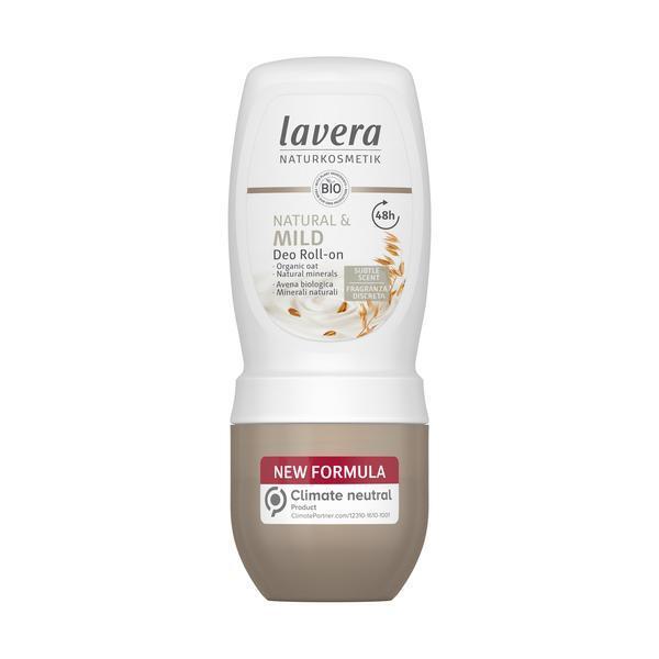 Lavera Guličkový dezodorant s výťažkami z ovsa Mild (Deodorant Roll-on) 50 ml