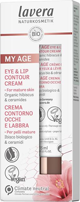 Lavera Krém na kontúry očí a pier My Age (Eye & Lip Contour Cream) 15 ml