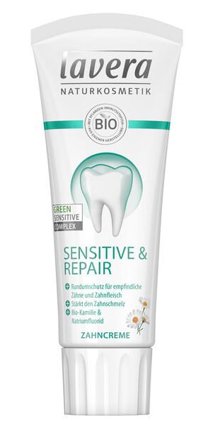 Lavera Zubní pasta Sensitive & Repair 75 ml