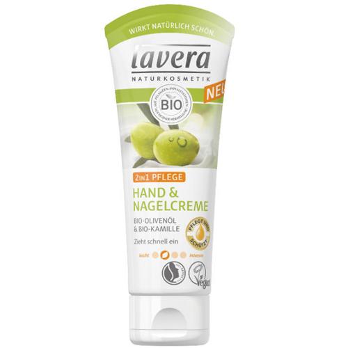 Lavera Ošetrujúci krém na ruky a nechty 2v1 75 ml