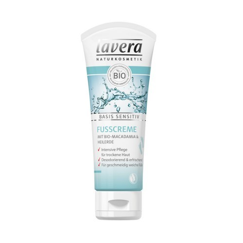 Lavera Prírodný krém na nohy Basis Sensitiv (Foot Cream) 75 ml