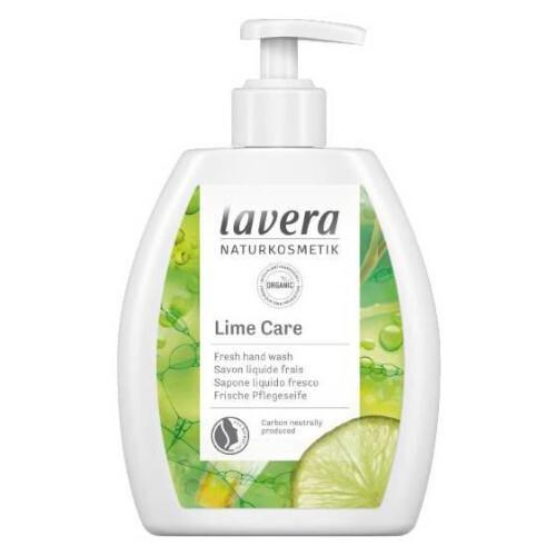 Lavera Osvěžující tekuté mýdlo s pumpičkou Lime Care (Hand Wash) 250 ml
