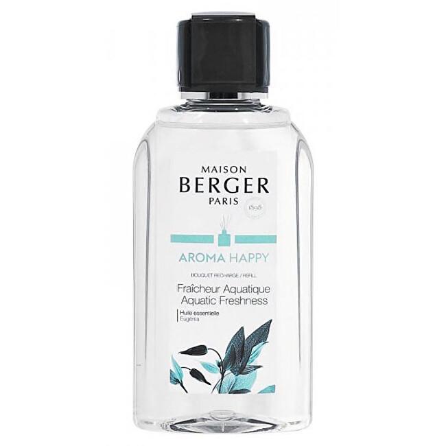 Maison Berger Paris Náplň do difuzéra Aróma Happy Svěžest vody Fraicheur Aquatique (Bouquet Recharge/Refill) 200 ml