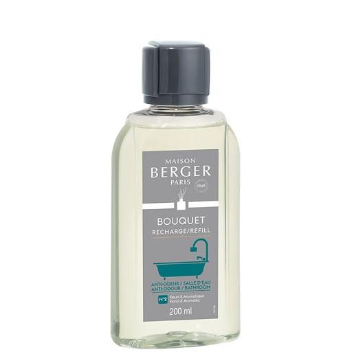 Maison Berger Paris Náplň do difuzéra proti zápachu v kúpeľni Floral & Aromatic (Anti-odour Bathroom) 200 ml