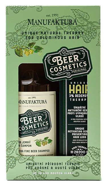 MANUFAKTURA Pivné terapia pre krásne a husté vlasy