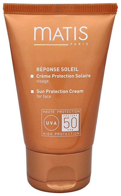 Matis Paris Réponse Soleil Sun Protection Cream For Face SPF50 krém na opalování na obličej 50 ml