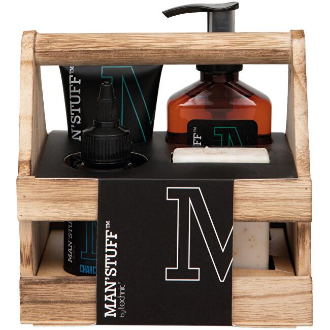 Technic Darčeková sada pre mužov Wooden Crate