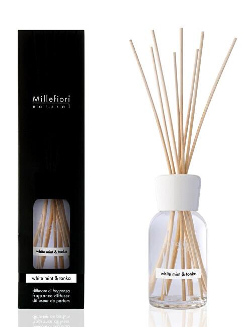 Millefiori Milano Aróma difuzér Natura l Biela mäta & Tonkové boby 250 ml