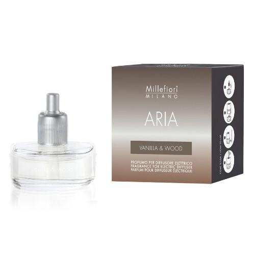 Millefiori Milano Náhradní náplň do elektrického difuzéru Aria - Vanilla & Wood 20 ml