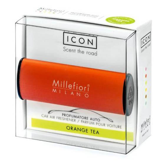Millefiori Milano Vôňa do auta Icon Classic Pomarančový čaj 47 g