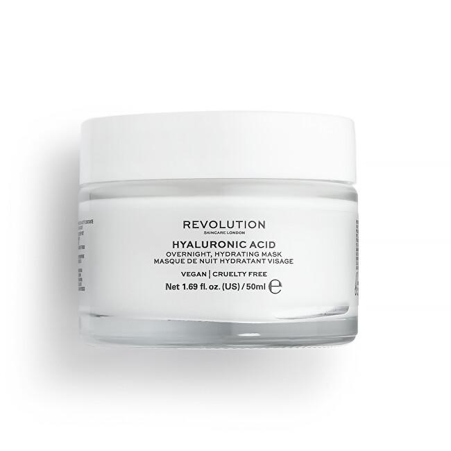 Revolution Skincare Nočná hydratačná maska na tvár Hyaluronic Acid (Overnight Hydrating Mask) 50 ml